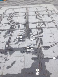 市電路線図